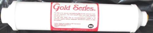 Gold Series GS-10 SED Inline Filtre de remplacement extra Vendeur Britannique