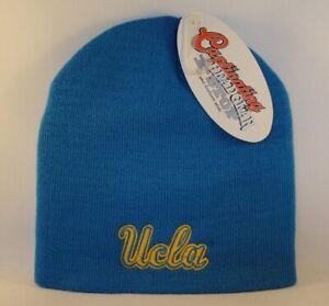 UCLA Bruins NCAA Knit Beanie Hat Blue