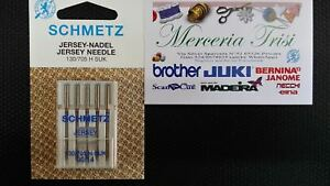 SCHMETZ 25 Aghi per Macchine da Cucire 130//705 Jersey 70 80 /& 90