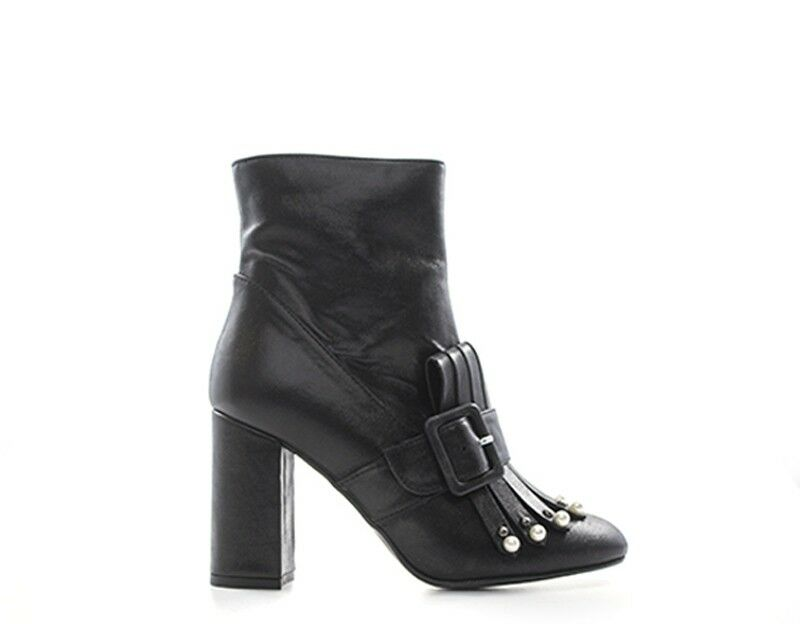 Schuhe DOROTHYD Frau 0485TEONE NERO Naturleder 0485TEONE Frau 8b209c