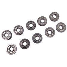 Us Stock 10x Fr4zz Mr4 Metal Shielded Flanged Ball Bearings 14 X 58 X 0196