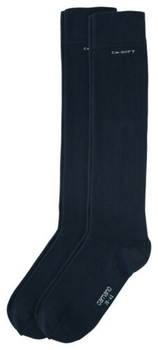 2Paar CAMANO Socken Kniestrumpf Kniestrümpfe Bund ohne Gummidruck Art 3942