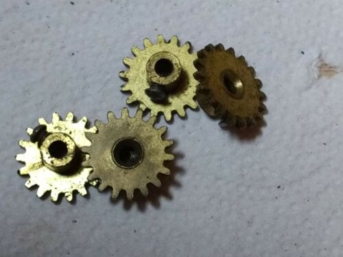 """1930/'s ONE 1 ORIGINAL in VERY GOOD CONDITION Erector  /""""P49/""""  18 tooth Gear"""