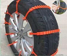 Universal Anti-skid Tire Chains for Car Sedan SUV Snow Winter Emergency Driving