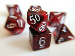 Little-Dragon-Corp-Garnet-Dice-7-Piece-RPG-Set