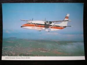 POSTCARD SHORTS SD360 OF JERSEY EUROPEAN AIRWAYS - Tadley, United Kingdom - POSTCARD SHORTS SD360 OF JERSEY EUROPEAN AIRWAYS - Tadley, United Kingdom
