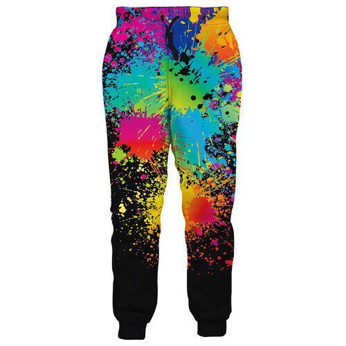 Tie Dye Bodybuilding 3D Print Casual Pantalons Hommes Femmes Jogging Pantalons De Jogging
