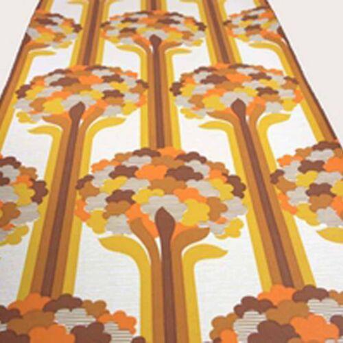 Groovin In Time GEOMETRIC VINTAGE 1960s 1970s designed wallpaper