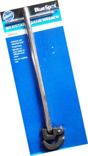 """11 /"""" Bassin clé spanner-entièrement réglable-tout acier 280 mm"""