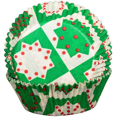 Verde Navidad Casos De La Magdalena x60 Repostería Muffin Navidad Happy Holidays