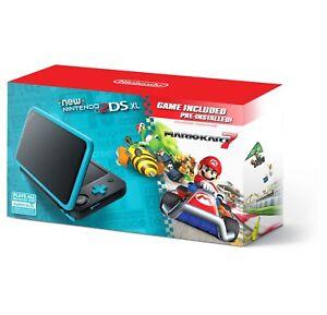Nintendo-2DS-XL-System-JANSBADB-w-Mario-Kart-7-Pre-installed-Black-amp