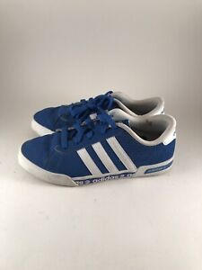Details zu BOY'S KIDS ADIDAS NEO BLUE SUEDE TRAINERS SNEAKERS UK 3 SHOES
