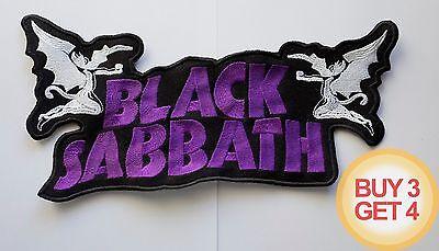 BLACK SABBATH WP PATCH,BUY3GET4,ELECTRIC WIZARD,DOOM METAL,SLEEP,DANZIG,MELVINS