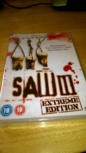 1 of 1 - Saw 3 (DVD, 2007) NEW LOWER PRICE