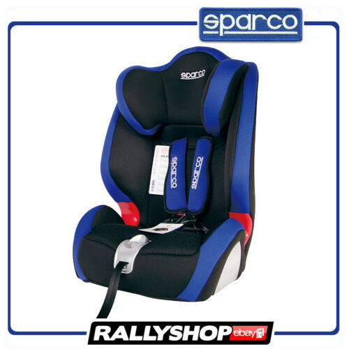 Sparco Child Seat F1000 K BLUE ECE Homologation Safety Auto Car Baby Secure