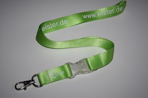 Elster www.elster.de Schlüsselband Lanyard NEU!!