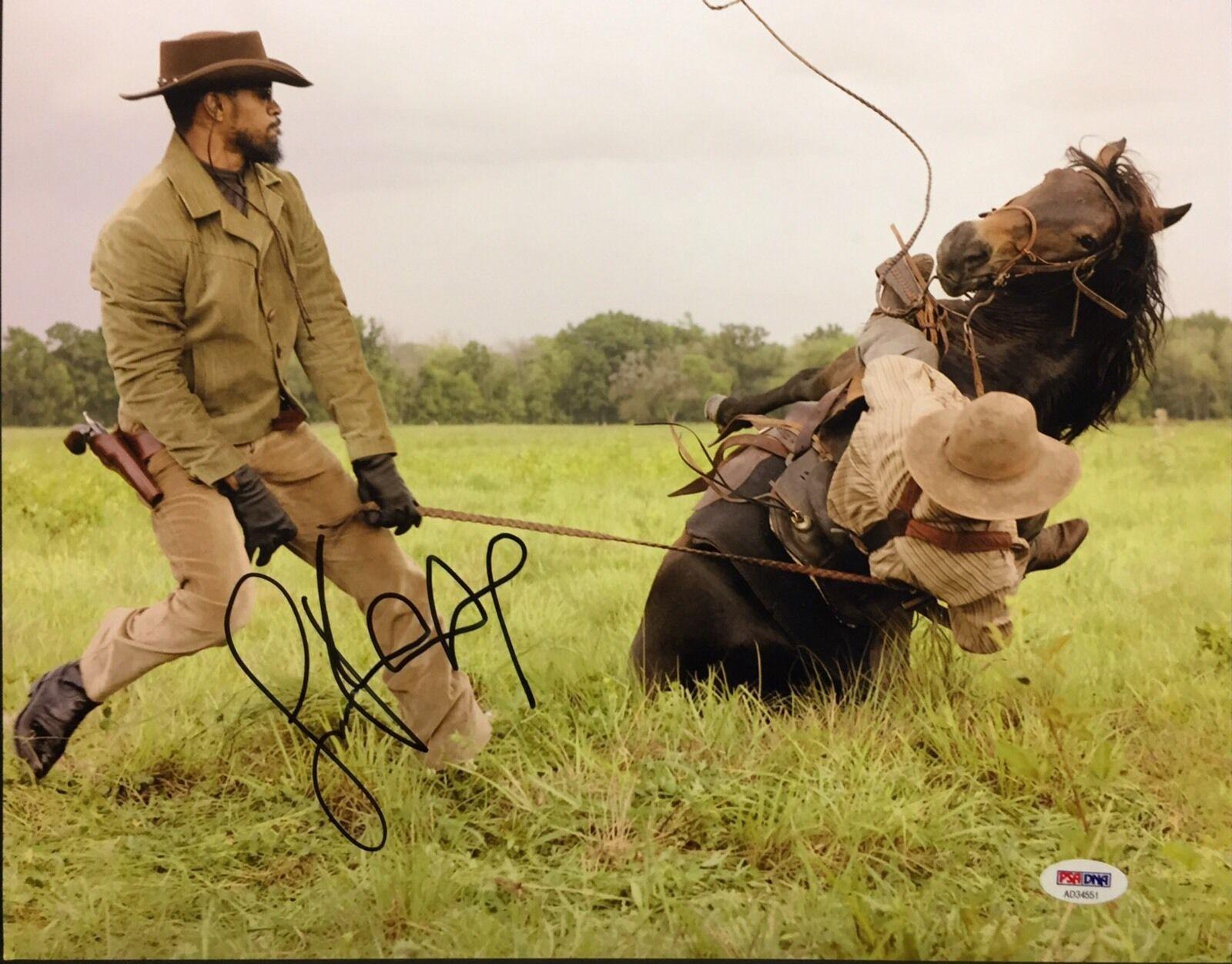 Jamie Foxx Signed Django 11x14 Photo PSA AD34551