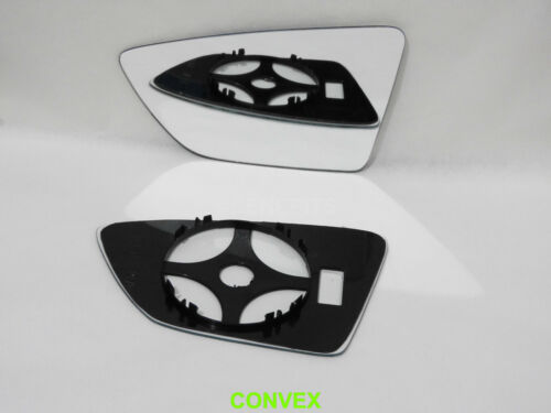 For Seat Leon 2012-2018 Left Side Wing Mirror Glass Convex  #TV008