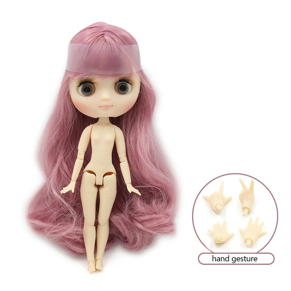 1 PC blyth doll frosted face 1/8 20cm normal and joint middle blyth dolls girl