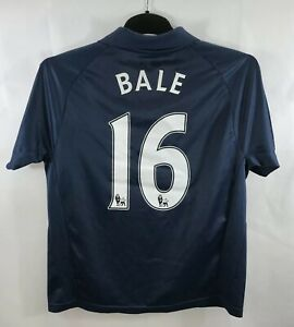 on sale f15ff 96418 Details about Tottenham Hotspur Gareth Bale 16 Away Football Shirt 2007/08  Adults XS Puma