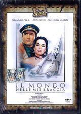 Dvd **IL MONDO NELLE MIE BRACCIA** con Gregory Peck Anthony Quinn nuovo 1952