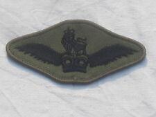 Army Air Corps,Piloten Schwinge,Heeresflieger, TRF,Patch,Abzeichen,schwarz/oliv