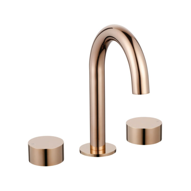 New Rose Gold Bath Set Mondella Resonance Bathroom Taps and Spout Set