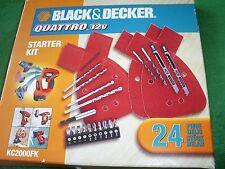 Black and Decker Quattro Starter Kit (24 piezas) A7070