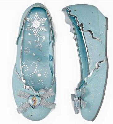 Disney Store Frozen Anna /& Elsa Flip Flops Girls Sandals 7//8 9//10 11//12 13//1 2//3