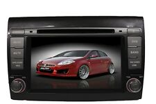 "FIAT BRAVO AUTORADIO GPS DVB-T DVD MONITOR LED HD 7"" USB SD Blue&Me IPhone 5"