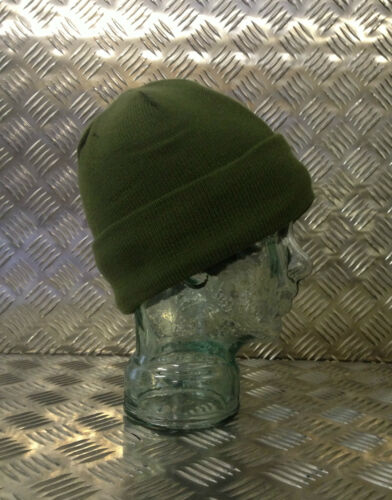 Green Thinsulate Beanie Hat One Size Very Warm Brand New