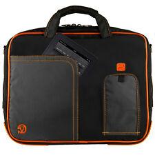 Black/Orange VanGoddy Shoulder Bag Pouch Sleeve for Apple iPad 2 / 3 /4 /5 Air 2