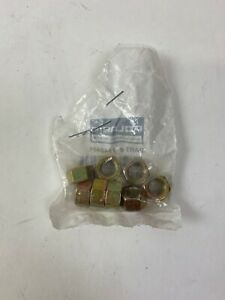 NOS-OEM-Polaris-Snowmobile-400-500-600-650-Star-Trail-Sprint-Sport-Hex-Nuts-Qty9