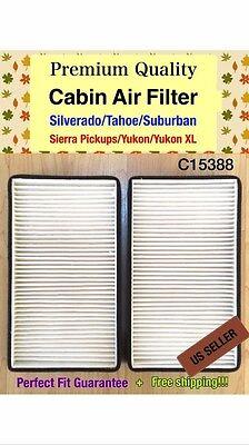 Suburban Tahoe 4.8L Yukon 4.3L 5.3L 6.0L C15388 Cabin air filter Silverado