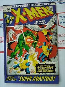 X-MEN-77-MARVEL-COMIC-1972-NICE-XMEN-X-MEN-77-AUGUST-1972