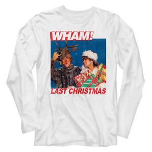 Last Christmas Album Cover.Wham Last Christmas Album Cover Long Sleeve T Shirt Pop