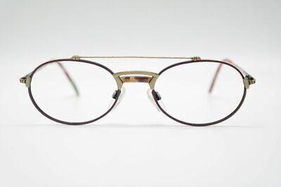 Klug Vintage Atelier 8009 20 52[]19 140 Matt Gold Rot Oval Brille Eyeglasses Nos Kaufe Eins, Bekomme Eins Gratis