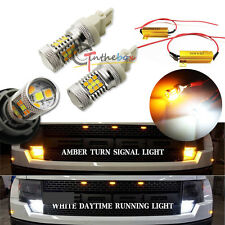 Dual-Color Switchback 31-SMD LED Turn Signal Lights Kit For Ford F-150 1997-2014
