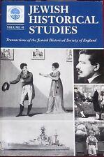 Jewish Historical Studies Vol. 41 Transactions Jewish Historical Society England