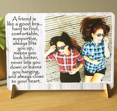 """8x6"""" Placca Personalizzato Shabby Chic Famiglia Sorella Best Friend Amicizia Nuovo-"""