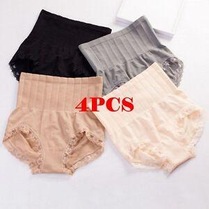 b0498e62f91a3 4X Japan MUNAFIE Women s High Waist Underwear Tummy Control Panties ...
