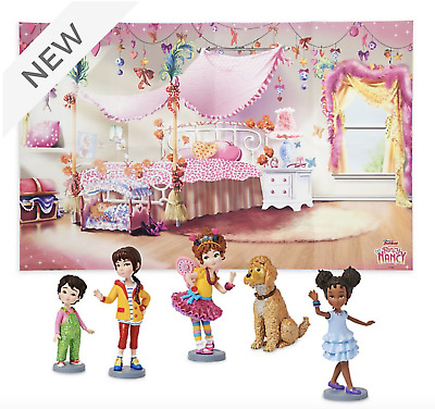 Disney Fancy Nancy 5 X Figure Playset New Ebay