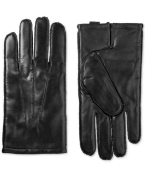 MSRP Isotoner Signature Men's ThermaFlex Leather Gloves Size XL