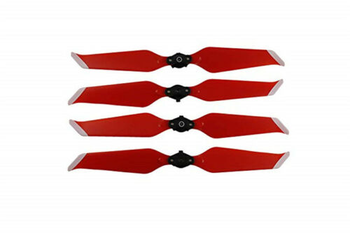 2 Pairs 8743F Propellers Quick Release Folding for DJI Mavic 2 Pro Zoom Red