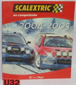 Spielzeug Scalextric Tecnitoys Katalog Slot Auto-jahr 2004/2005 Neu 42 Seiten Cheap Sales 50%
