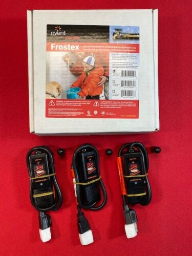 Frostex Heat Tape 100/' w//3 Plug Kits Mobile Home Heat Tape Trace Raychem