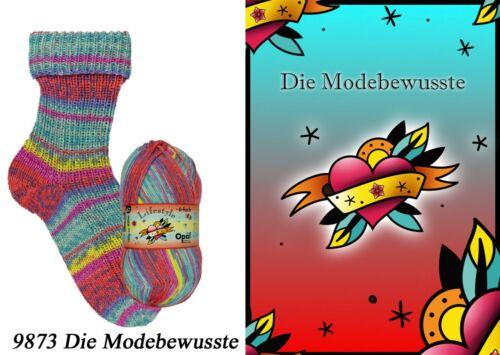 Sockenwolle 6fädig Opal Lifestyle 150g *6fach* für kuschelwarme Füße