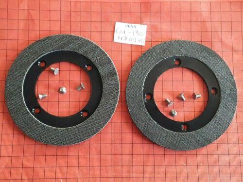 Details about  /2 parts 6//1-130 drag washer show original title screw 1180980 reel reel penn international 130