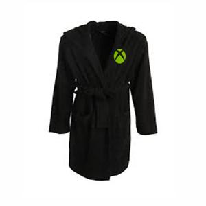 Xbox One logo brodé ** Vert Enfants Robe de chambre peignoir robe de chambre pyjama