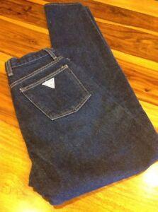 Para Mujer Guess Jeans Pantalones Azul Oscuro 29x32 Ebay